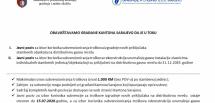 Objavljen javni poziv za subvencioniranje troškova izgradnje/rekonstrukcije unutrašnje gasne instalacije